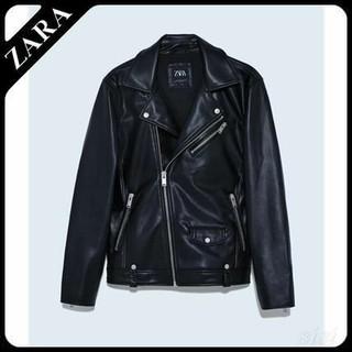 ザラ(ZARA)のZARA 美品 ライダースジャケット(ライダースジャケット)