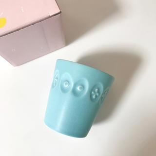 ミナペルホネン(mina perhonen)の新品 ミナペルホネン カップ 廃盤色ブルー 食器 (グラス/カップ)