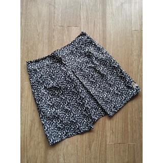 マークアンドロナ(MARK&LONA)の【新品】MARK&LONA マークアンドロナ スカート 黒×白×グレー (ウエア)
