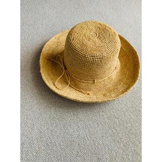 ネストローブ(nest Robe)のcholon ラフィア 麦わら帽子 ハット(麦わら帽子/ストローハット)