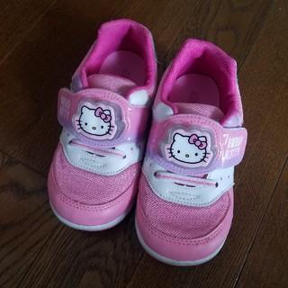 ハローキティ(ハローキティ)のHELLO KITTY キティちゃん 光る靴 17センチ(スニーカー)