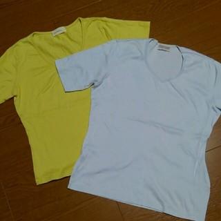 ワコール(Wacoal)の★Wacoal 半袖トップス Tシャツ 綿100% 2枚セット(Tシャツ(半袖/袖なし))
