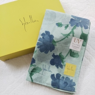 シビラ(Sybilla)の【新品】sybilla シビラ UVカット加工 スカーフ(バンダナ/スカーフ)
