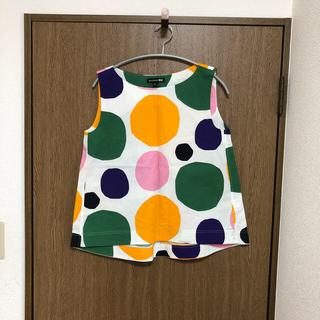 マリメッコ(marimekko)のユニクロ×マリメッコ トップス(シャツ/ブラウス(半袖/袖なし))
