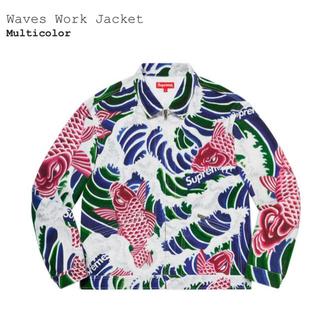 シュプリーム(Supreme)のSupreme Waves Work Jacket(Gジャン/デニムジャケット)