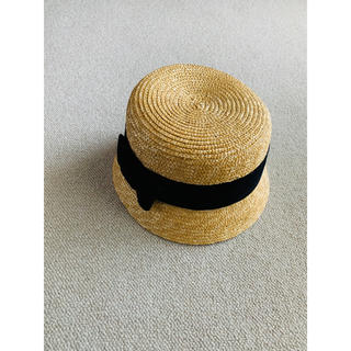 ネストローブ(nest Robe)の麦わら帽子 ハット カンカン帽(麦わら帽子/ストローハット)