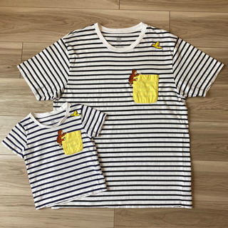 グラニフ(Design Tshirts Store graniph)の★こんた様専用 グラニフ Tシャツ 親子セット ジョージ メンズLのみ(Tシャツ/カットソー)
