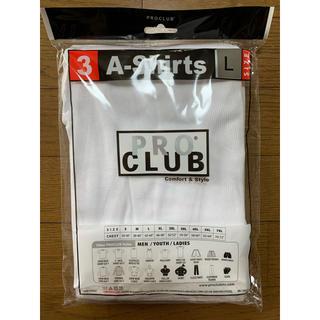 ヘインズ(Hanes)のPROCLUB プロクラブ タンクトップ L 白 ホワイト 3枚セット(タンクトップ)