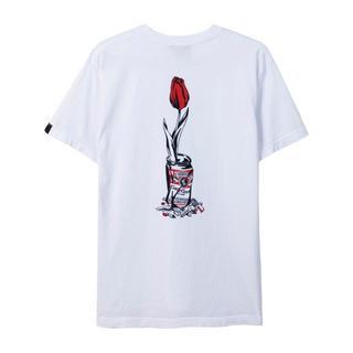 アフターベース(AFTERBASE)のwasted youth×afterbase tee T シャツ ホワイト L(Tシャツ/カットソー(半袖/袖なし))