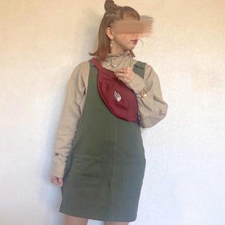 スピンズ(SPINNS)のスピンズ サロペットスカート(サロペット/オーバーオール)