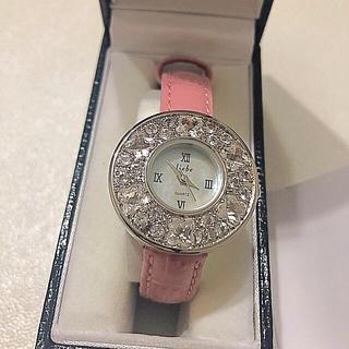 アビステ(ABISTE)のお値下げ本日まで【新品】ABISTE 腕時計 スワロフスキー(腕時計)