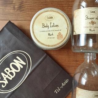 サボン(SABON)のSABON サボン 一輪挿し 空き瓶 ビン ボトル ショップバッグ ショッパー(その他)