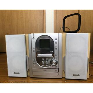 パナソニック(Panasonic)のPanasonicミニコンポ SC-PM 27MD(ポータブルプレーヤー)