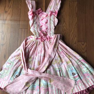アンジェリックプリティー(Angelic Pretty)のWonder Galleryエプロン風スカート(ミニスカート)