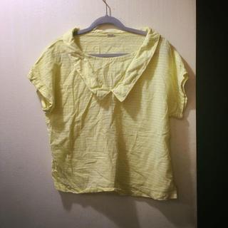 パーリッシィ(PAR ICI)のPAR ICI 襟付き ブラウス トップス カットソー(シャツ/ブラウス(半袖/袖なし))