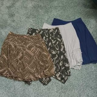 アンタイトル(UNTITLED)のレディーススカートMサイズ4点 UNTITLEDスカート INDIVIスカート(ひざ丈スカート)