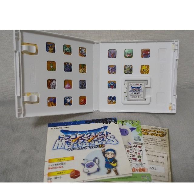 SQUARE ENIX(スクウェアエニックス)のドラゴンクエストモンスターズ テリーのワンダーランド3D 3DS エンタメ/ホビーのゲームソフト/ゲーム機本体(携帯用ゲームソフト)の商品写真