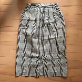 バックナンバー(BACK NUMBER)のチェック スカート(ひざ丈スカート)