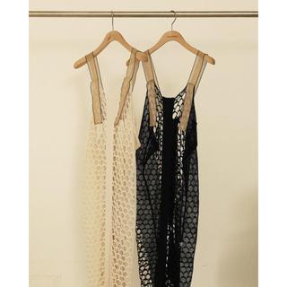 トゥデイフル(TODAYFUL)のTODAYFUL   Mesh Knit Dress(ロングワンピース/マキシワンピース)