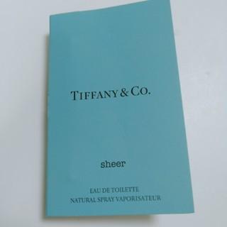 ティファニー(Tiffany & Co.)の【24】ティファニー香水サンプル  (ユニセックス)
