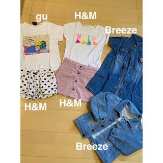 アナップキッズ(ANAP Kids)の女の子服まとめ売り110(Tシャツ/カットソー)