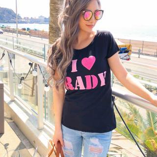 レディー(Rady)の新品♡Rady♡ぷっくりRadyTシャツ♡(Tシャツ(半袖/袖なし))