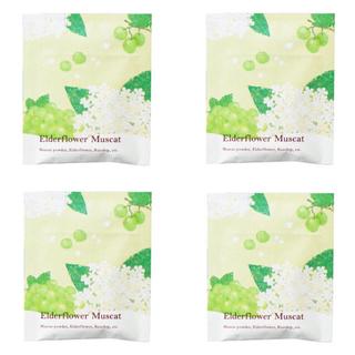 セイカツノキ(生活の木)の生活の木 おいしいハーブティー  エルダーフラワーマスカット4袋入り(茶)