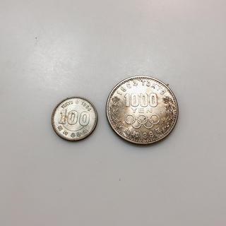 東京オリンピック 1000円 硬貨(貨幣)