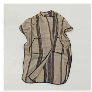 トゥデイフル(TODAYFUL)のTODAYFUL   Jacquard Piping Gown(ガウンコート)
