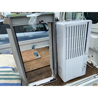 コイズミ(KOIZUMI)の1シーズンのみ使用 2018年製 窓用 エアコン ウインド ウインドウ ウィンド(エアコン)
