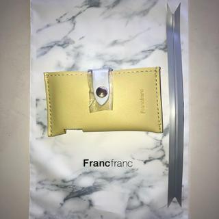 Francfranc - イエロー ⬛︎ ミントケース  フランフラン