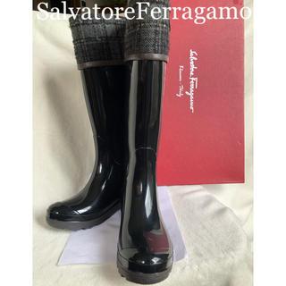 サルヴァトーレフェラガモ(Salvatore Ferragamo)のサルバトーレフェラガモ SalvatoreFerragamo レインブーツ (レインブーツ/長靴)