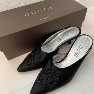 Gucci - GUCCI ミュール パンプス