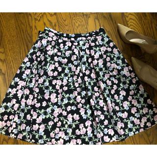 ワールドベーシック(WORLD BASIC)のWORLDスカート(ひざ丈スカート)