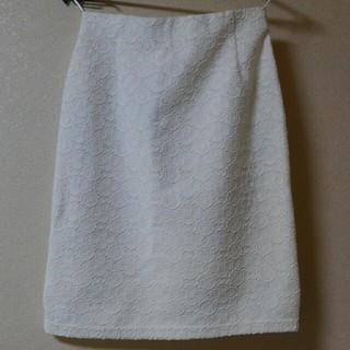 レーススカート(ひざ丈スカート)