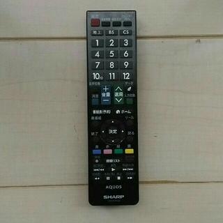アクオス(AQUOS)のシャープ アクオス テレビ リモコン GB129WJSA(その他)