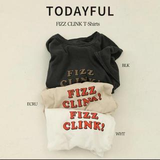 トゥデイフル(TODAYFUL)のTODAYFUL   FIZZ CLINK Tシャツ(Tシャツ(半袖/袖なし))