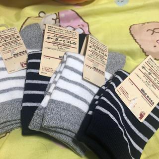 ムジルシリョウヒン(MUJI (無印良品))の無印良品 靴下 キッズ(靴下/タイツ)