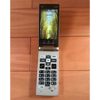 エーユー(au)のau かんたんケータイ KYF36(携帯電話本体)