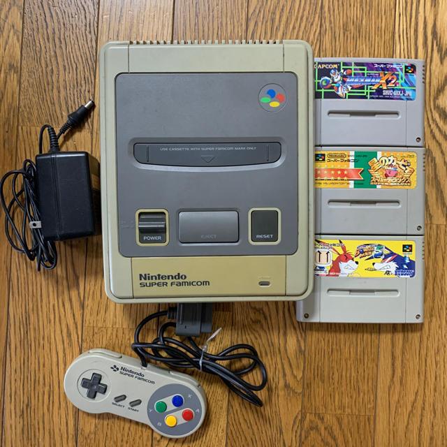 スーパーファミコン(スーパーファミコン)のスーパーファミコン・ゲームキューブ エンタメ/ホビーのゲームソフト/ゲーム機本体(その他)の商品写真