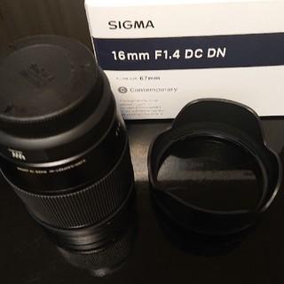 SIGMA - SIGMA 16mm F1.4 マイクロフォーサーズ