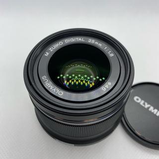 オリンパス(OLYMPUS)の★美品!OLYMPUS M.ZUIKO DIGITAL 25mm F1.8★(レンズ(単焦点))