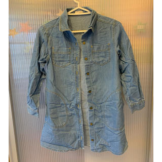 ジーユー(GU)の【値下げ】GU デニムシャツ(ジャケット/上着)