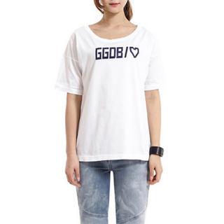 ゴールデングース(GOLDEN GOOSE)の未使用★GOLDEN GOOSE★HEART PRINT T-SHIRT(Tシャツ(半袖/袖なし))