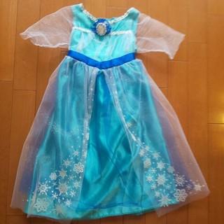 アナトユキノジョオウ(アナと雪の女王)のアナと雪の女王 エルサのドレス 100~110cm(ドレス/フォーマル)