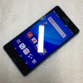 エクスペリア(Xperia)のdocomo Xperia A4 SO-04G ブルー ジャンク aki549(スマートフォン本体)