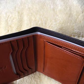 柿渋染め/壺渋(こしぶ)/財布/二つ折り財布(折り財布)