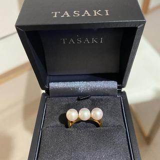 タサキ(TASAKI)の美品 TASAKI  タサキ バランス リング 18K イエローゴールド(リング(指輪))
