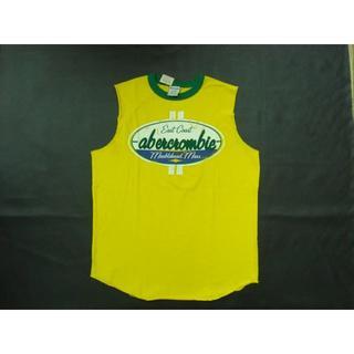 アバクロンビーアンドフィッチ(Abercrombie&Fitch)の新品アバクロノースリTシャツ ボーイズLサイズ(Tシャツ/カットソー)