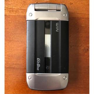 カシオ(CASIO)の値下げ可★ au  カシオ  G'z one  W62CA  ブラック  白ロム(携帯電話本体)